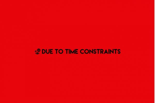 Podcast: Due to Time Constraints – NBA and NHL Recap